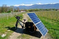 Pauline de la Manierre #solar #bike #greentech #mobility #ecology #suntrip2015