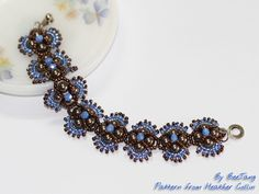 Hindia Bracelet   Hindia Bracelet, pattern from Heather Coll…   Flickr - Photo Sharing!