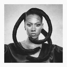 Tribute to Ojeikere Hairstyle by me Talent: Corinne Make up: @makeupben_ Photo: @firmafromina Retouch by @clairelaura #haara #ojeikere #hautecoiffure #sephorajoannes #hairstyle #hairart #hair #africa #caribbean #haarashow #teamnatural #afrohair #kinkyhair #nigeria #nubianqueen #fashion #hairshow #afrofuturism