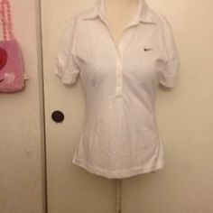 I just discovered this while shopping on Poshmark: NIke new White t-shirt. Check it out!  Size: S