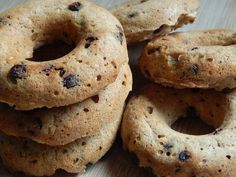 Oatmeal chocolate chip donuts by drizzle me skinny.. 2p+
