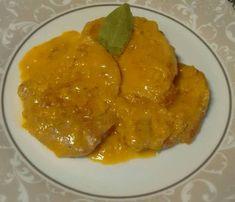 Lomo de cerdo en salsa de naranja Medium Length Hair Straight, Main Menu, Curry, Beef, Chicken, Ethnic Recipes, Food, Supercar, Risotto