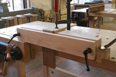 Dovetailing with a Moxon vise is such a dream it's now difficult to remember what we did before the current revival this wonderful fixture. As Chris Schwarz was working on reprinting parts of Joseph Moxon's 1678 landmark book on woodworking one question that