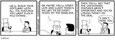 Dilbert on vendor