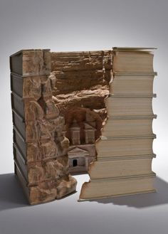 Art from books... literally!