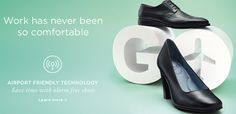 Airport Friendly Technology - Save time with alarm free shoes