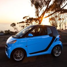 Photographer @erubes1 took a smart out for a little photo shoot. Magic happened! #smartcar