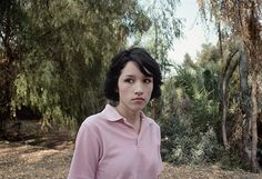 Lise Sarfati / Immaculate series: Michelle, Ramona Convent Secondary School. Alhambra, CA 2006 Color Photography, Portrait Photography, Lise Sarfati, Ethnographic Research, Gorgon City, Witch School, Contemporary Photography, Contemporary Art, Teen Movies