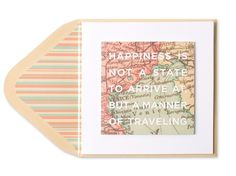 """Happiness Is…"" Map"