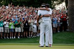 Bubba Watson wins sudden death playoff to win the Masters