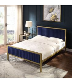 Wingback Bed, Upholstered Beds, Wooden Bed Base, Corner Headboard, Buy Beds Online, Pull Out Bed, Bed Slats, Beds For Sale, Online Furniture Stores