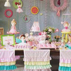 Festa Bailarinas - decoração mini mimo festas- www.minimimofestas.com.br