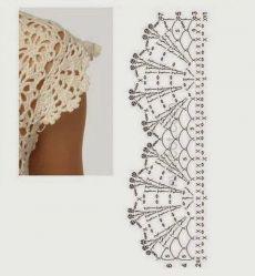 Crochet tablecloth Cream lace doily Crochet round doily Home decor doilies Handmade crochet tablecloth Filet Crochet, Col Crochet, Crochet Lace Edging, Crochet Collar, Crochet Shirt, Crochet Diagram, Thread Crochet, Crochet Trim, Crochet Border Patterns