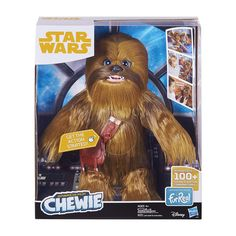 Star Wars Chewbacca Ultimate Co-Pilot Chewie Wookiee Furreal Friends Pet Hasbro Story Characters, Disney Stars, Chewbacca, Stickers, Clipart, Decoration, Gifts For Kids, Pilot, Cool Things To Buy