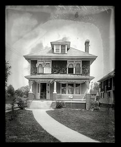 Shorpy Historical Photo Archive :: Blair House: 1920