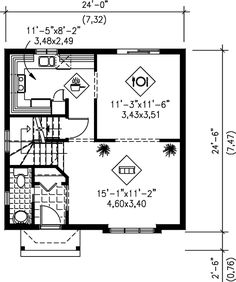 The home plan is a two story, Traditional, Bungalow Style house plan with 1169 total living square feet. This home plan has 3 bedrooms and 1 bathroom. The aluminum siding covers the exterior of this house plan beautifully. Best House Plans, Country House Plans, Electrical Layout, Heating And Plumbing, Traditional House Plans, Apartment Plans, Architectural Design House Plans, Architect House, Garage Plans