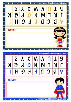 Pin by Rubia Blunk on Escola 4 Year Olds, Letters And Numbers, First Grade, School Projects, Professor, Preschool, Classroom, Lettering, Clip Art