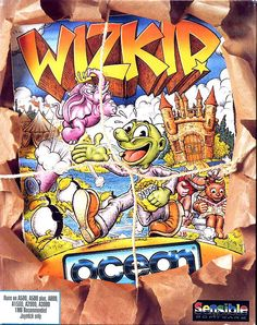 Wizkid is a computer game for the Amiga, Atari ST and IBM PC computers, developed by Sensible Software and released by Ocean Software in 1992. Wizkid is officially the sequel to the earlier game Wizball, developed and released by the same companies.