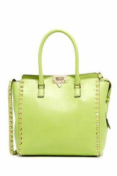 Lime Green Handbag.