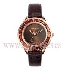 * Reloj Viceroy Mujer .Modelo 46836-40. * * Caja de acero e Ip rosa. * Correa de color marron. * Esfera redonda de color marron. * Maqu...
