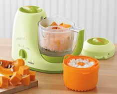 Ssteamer, blender, warmer and defroster to help you make healthy meals for baby! #baby #cooking