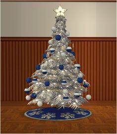 Mod The Sims - Christmas Tree **Update Pretty Christmas Trees, Sims 4 Clutter, Sims 4 Cc Furniture, Sims Hair, My Sims, Sims 4 Custom Content, Favorite Holiday, Objects, Barbie