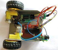 Assembling Line Follower Robot using PIC Microcontroller Pic Microcontroller, Arduino Projects, Robotics, Line, Raspberry, Robots, Fishing Line, Robot, Raspberries