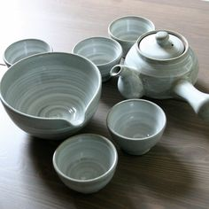 Traditional Korean Tea Set