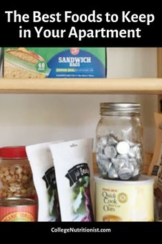 The Ultimate Guide: Foods to Keep in Your Dorm or Apartment — The College Nutritionist College Food Hacks, College Dorm Organization, College Meals, Teen Girl Bedding, Dorm Bedding, Bedding Sets, Automotive Decor, Automotive Furniture, Dorm Food