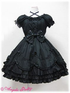 Angelic Pretty Dolce One-Piece black