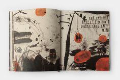 Illustrated book by Arina Makhova, via Behance