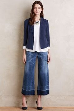 Citizens of Humanity Melanie Wide-Leg Crop Jeans