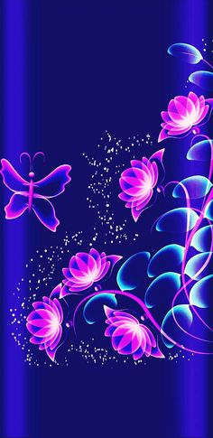 By Artist Unknown. Bling Wallpaper, Flower Phone Wallpaper, Heart Wallpaper, Butterfly Wallpaper, Butterfly Art, Wallpaper Iphone Cute, Love Wallpaper, Cellphone Wallpaper, Galaxy Wallpaper