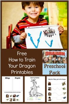 Free How To Train Your Dragon Printables from @1plus1plus1