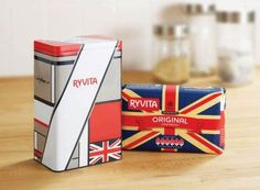 limited edition ryvita tin by Kelly Hoppen