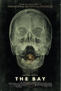 THE BAY Trailer and Poster. The first trailer and poster for Barry Levinson's found footage horror film The Bay, which centers on a biological disaster. Horror Movie Posters, Horror Movies, Film Horror, Cinema Posters, Film Posters, 2012 Movie, Movie Tv, Movies 2014, Netflix Movies