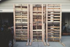 Bridal Expo - How To Make A Wood Pallet Wall - Brightwood Photography