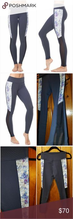 Amari Poppy Print Leggings LIKE NEW!! SIZE SMALL NEVER WORN -SOLD OUT! Wear this legging for yoga, pilates, barre, gym sessions, or everyday style. Full length legging.Fitted.Moisture wicking.Breathable.4-way stretch.Pilling resistant.Anti-sheer coverage.UPF 50+,for broad UVA and UVB sun protection.Flatlock seams, for durability and to prevent chafing.Mesh panels on each side extending from knee to ankle, for breathability.Colorblock design, for a flattering look.Poppy/Indigo Blue color…