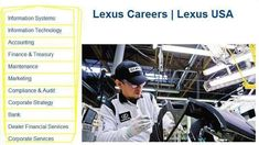 How to find and apply work at Lexus? Work at Lexus that mean you are on Toyota north america group company . Apply Job, How To Apply, Group Company, Security Consultant, Corporate Strategy, Mortgage Loan Officer, Accounting And Finance, Group Of Companies, Apply Online