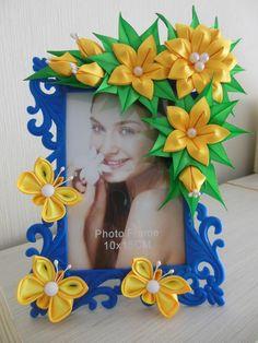 Изготовление цветов из ткани и других материалов — Рамки для фото (ОБЩИЙ АЛЬБОМ) | OK.RU