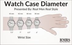 What Is The Right Size Watch For My Wrist?
