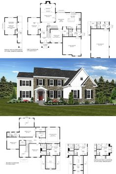 The Belton Plan at Gwynedd's Preserve at Prospect in North Wales, PA by Cornerstone Premier Homes 🎉 Visit NewHomeSource for all the details and ways to contact the builder directly with your questions today. Home Buying Process, Buying A New Home, Flex Room, North Wales, Entry Foyer, Preserves, New Homes, Floor Plans, How To Plan