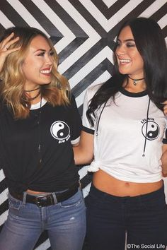 Big & Little Ying Yang Shirts #biglittle #reveal #shirts