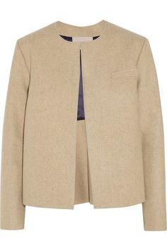 Feutre de laine couleur sable S'enfile simplement 100% laine; doublure: 100% viscose Nettoyage à sec
