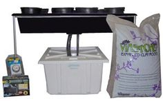 ebb and flow hydroponic system