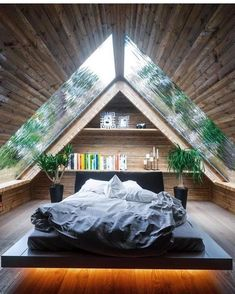 Rustic Master Bedroom Design, Bedroom Designs, Bedroom Ideas, Bedroom Decor, Bedroom Rustic, Bedroom Plants, Wood Bedroom, Bedroom Lighting, Wall Decor