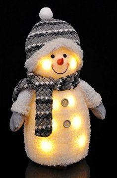 Gravidus Süßer Deko Schneemann mit LED Beleuchtung Weihnachtsdeko Christmas Decorations, Christmas Ornaments, Holiday Decor, Star Silhouette, Star Shape, Christmas Time, Shapes, Fabric, Home Decor