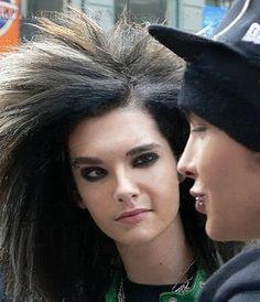Bill & Tom Kaulitz... <3 Bill like this