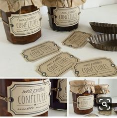 Love the packaging Diy Cosmetics Labels, Cosmetic Labels, Honey Packaging, Food Packaging, Packaging Design, Jar Design, Label Design, Jam Label, Food Gifts