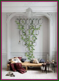 indoor decor Things You Should Know About Vertical Garden And Multiple Plant Hanger 138 -. Things You Should Know About Vertical Garden And Multiple Plant Hanger 138 - myhomeorganic Indoor Plant Wall, Plant Wall Decor, House Plants Decor, Indoor Plants, Hanging Plant Wall, Indoor Gardening, Organic Gardening, Vertical Plant Wall, Living Room Plants Decor